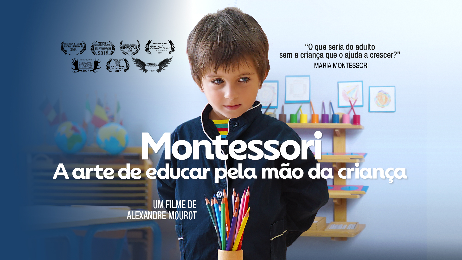 video preview of Montessori, a arte de educar pela mão da criança